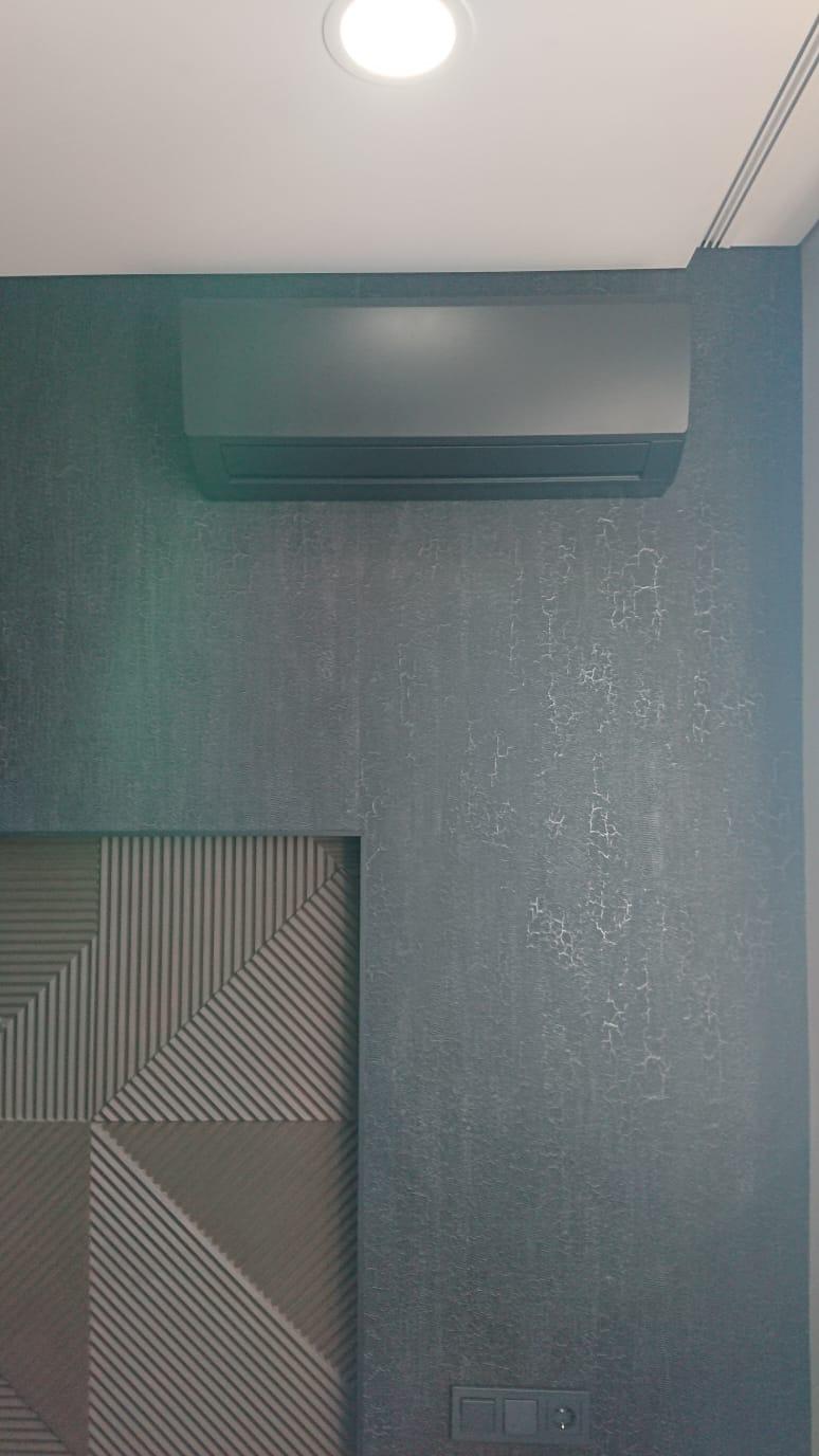 Покрасить кондиционер под цвет стены в москве